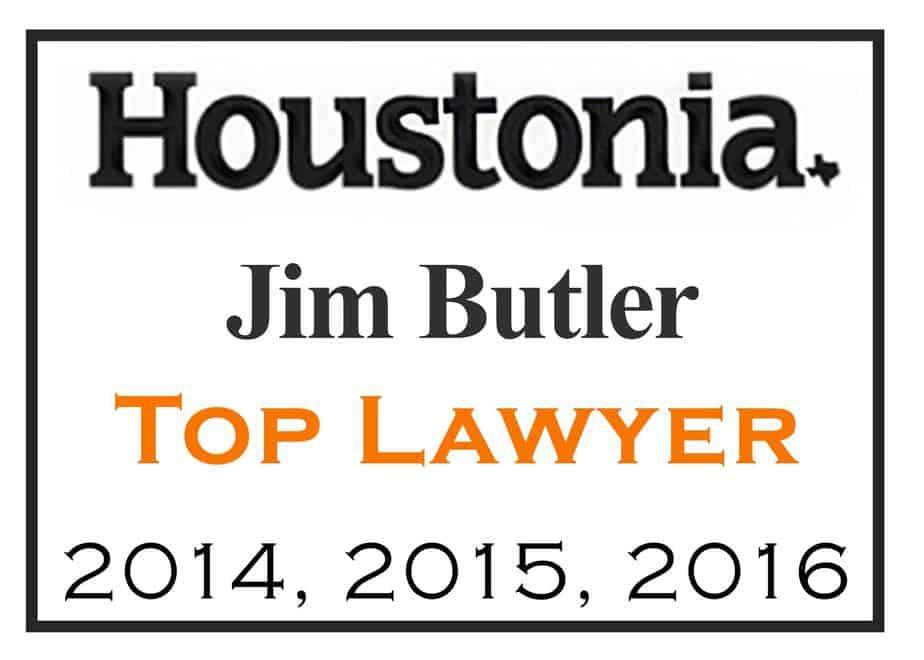 Houstonia Top Lawyers - Butler Law Firm - Houston DWI Lawyer